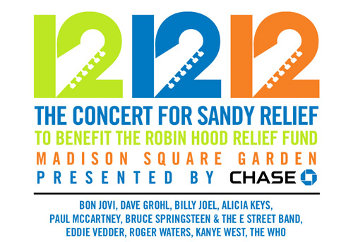 The Who rock the 12-12-12 Sandy Relief concert!