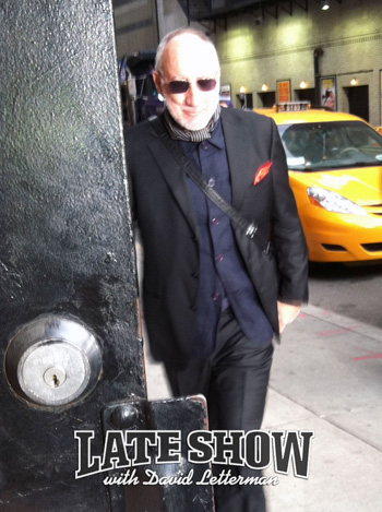Late Show with David Letterman appearance