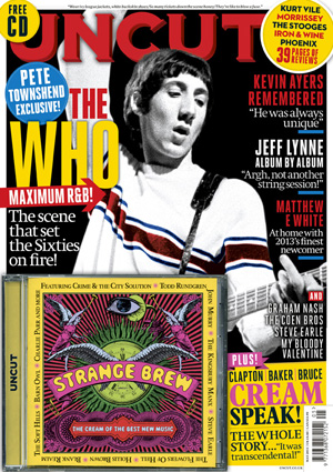 Pete in May issue of Uncut magazine