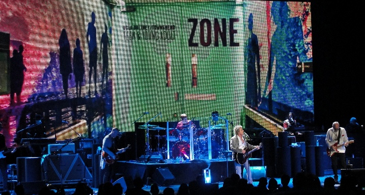 The Who end North American tour with benefit show