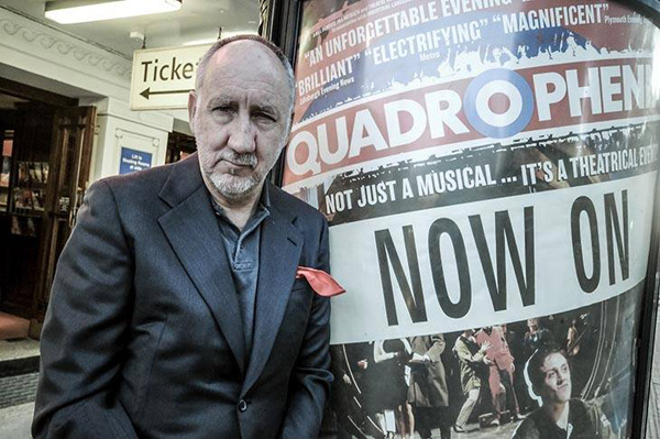 Pete Townshend attends Quadrophenia musical